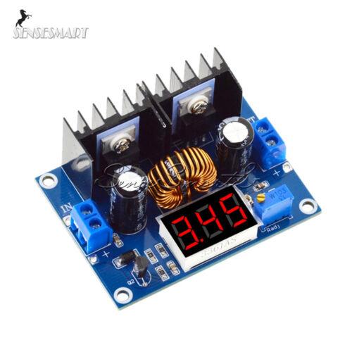 4-38V to 1.25-36V PWM XL4016 Step-Down DC-DC Converter Board Module+LCD Display