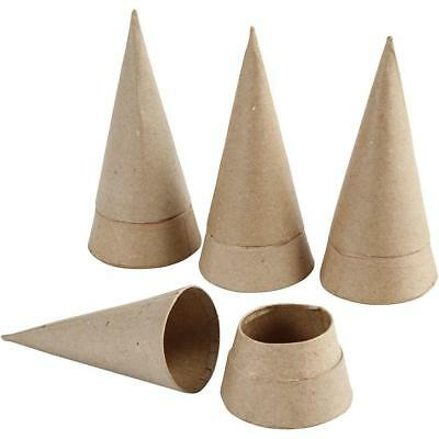 Set of 4 Assorted Paper Mache Boxes Approx 10-12cm