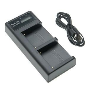 Chargeur double + Display pour Sony NP-F970/B, NP-F975, XL-B2, XL-B3