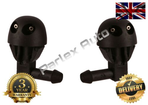 Peugeot 206 Windscreen Washer JETS Nozzles LEFT//RIGHT SIDE PAIR OF