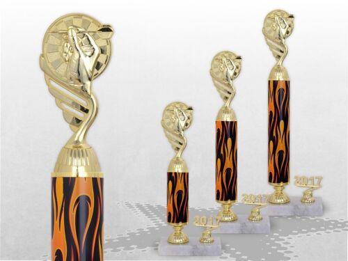 Piliers trophées Dart Flames trophées avec gravure Dart trophées favorable acheter Top Série