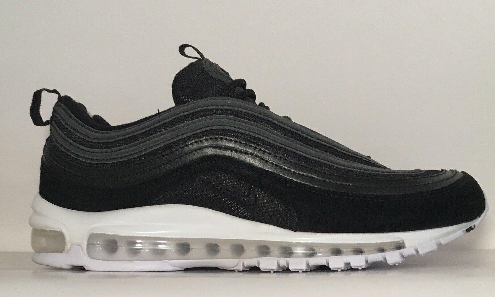 Sz.10 nike air max 97 921826-003 schwarz schwarz schwarz / schwarzWeiß 4a9a8c