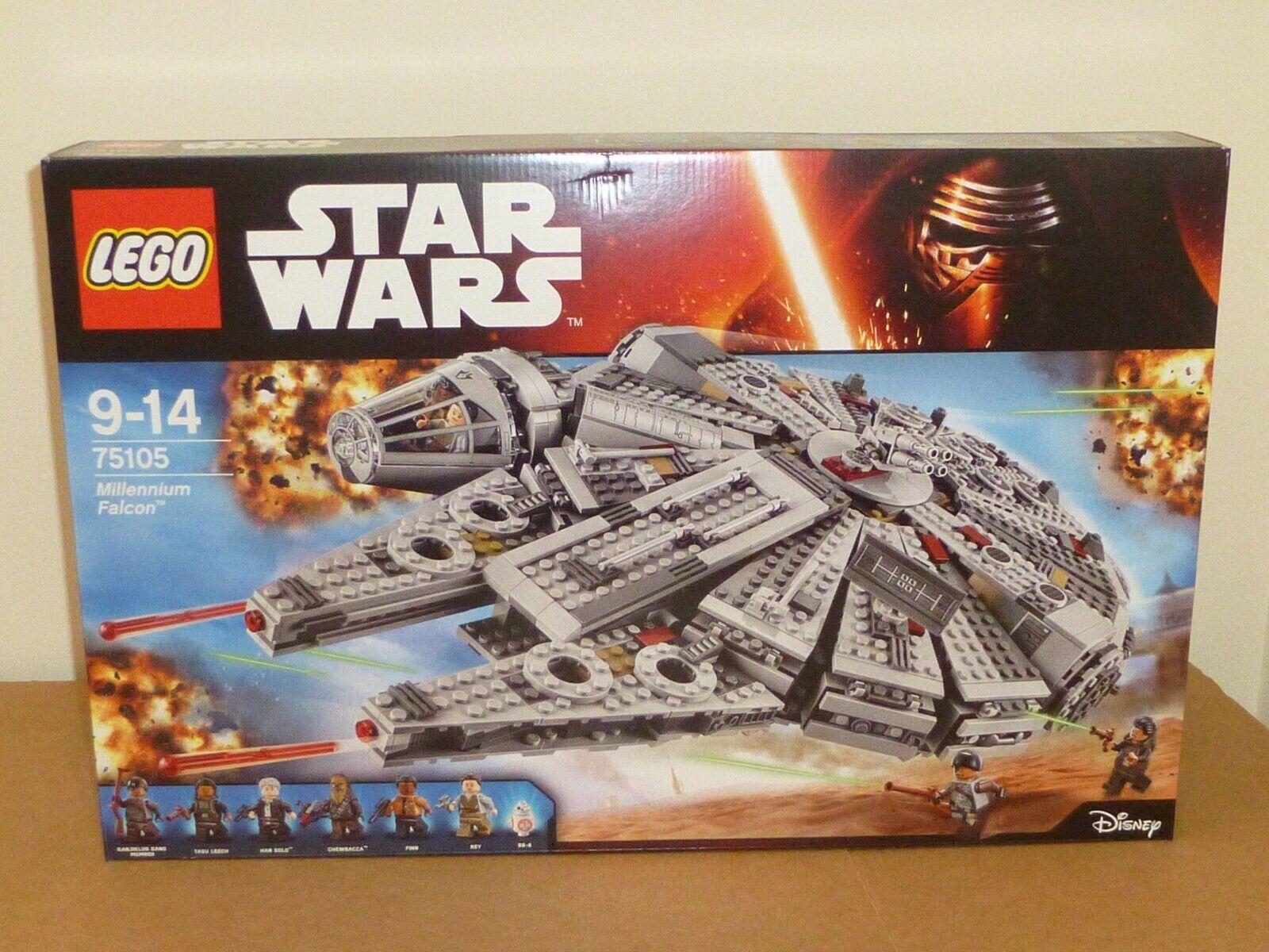 Lego stjärnornas krig 7505 Millennium Falcon ny och förseglad DPD nästa dag