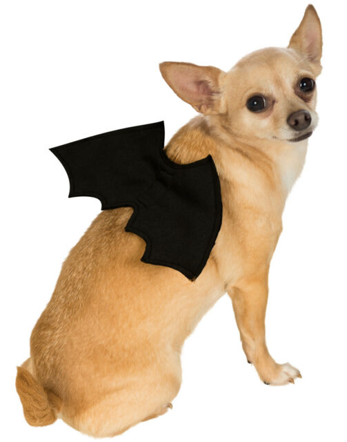 Dog Or Cat Pet Bat V&ire Batman Dracula Black Wings M/L  sc 1 st  eBay & Rubieu0027s Pet Costume Bat Wings Medium to Large Costumes Dog Supplies ...