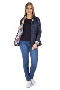 Basler-Women-039-s-Quilted-Jacket-Reversible-Jacket-Transitional-Navy-Gr-38