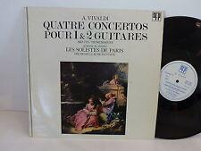 VIVALDI Quatre concertos pour 1 et 2 guitares ITO DORIGNY dir FANTAPIE 31017