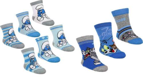 16// 18 Set 3er Socken Erstlingssocken Strümpfe Baby Schlümpe Tom /& Jerry 13// 15