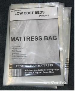 Image is loading Polythene-plastic-mattress-protector-storage-bag -Matress-transport- & Polythene plastic mattress protector storage bag.Matress transport ...