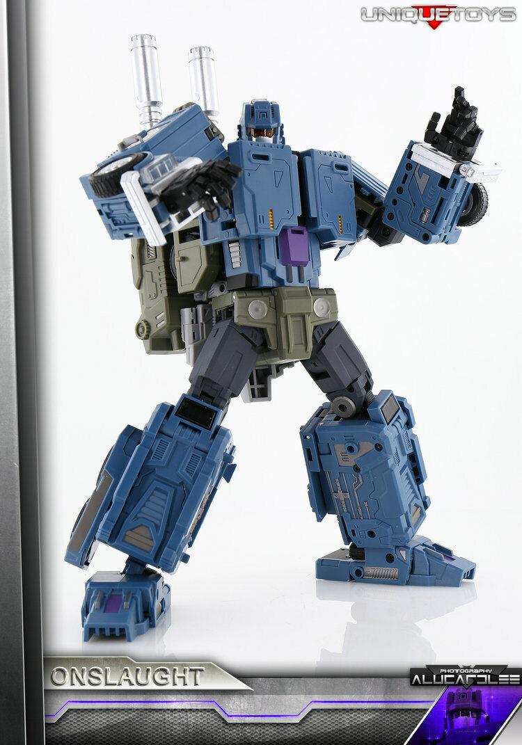 NUOVO Unique giocattoli Transformers UT M03 kalecgos Onslaught Bruticus in magazzino