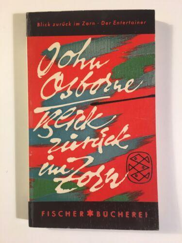 1 von 1 - John Osborne - Blick zurück im Zorn Fischer Bücherei Taschenbuch 1958