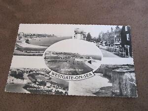 1950s-real-photo-postcard-Westgate-on-sea-scenes-Nr-Margate-kent