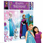 Set of Scene Wall Frozen Party Feast Birthday Disney Elsa Anna 999262