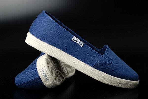 Kustom   Birch Birch  Blue Sneaker 706aaa