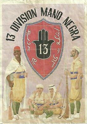 0980 13 Division Mano Negra Melilla Cupones De Racionamiento