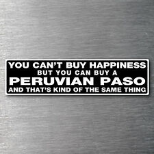Buy a Peruvian Paso sticker Premium quality 7 yr water/fade proof vinyl pony