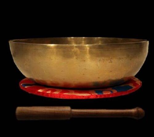 1960 Gramm Nepal Singing Bowl  Nepal handbarbeit Klangschale Samadhi ca