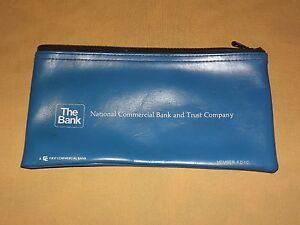 VINTAGE NATIONAL COMMERCIAL BANK & TRUST COMPANY  VINYL  BANK DEPOSIT BAG