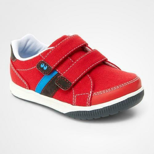 NIB Stride Rite Surprize Shoes Toddler Boys Tanner Red Size 4 FREE Shipping