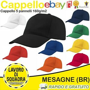 Cappello-con-visiera-cappellino-cappelli-cappellini-Berretto-Baseball-Golf