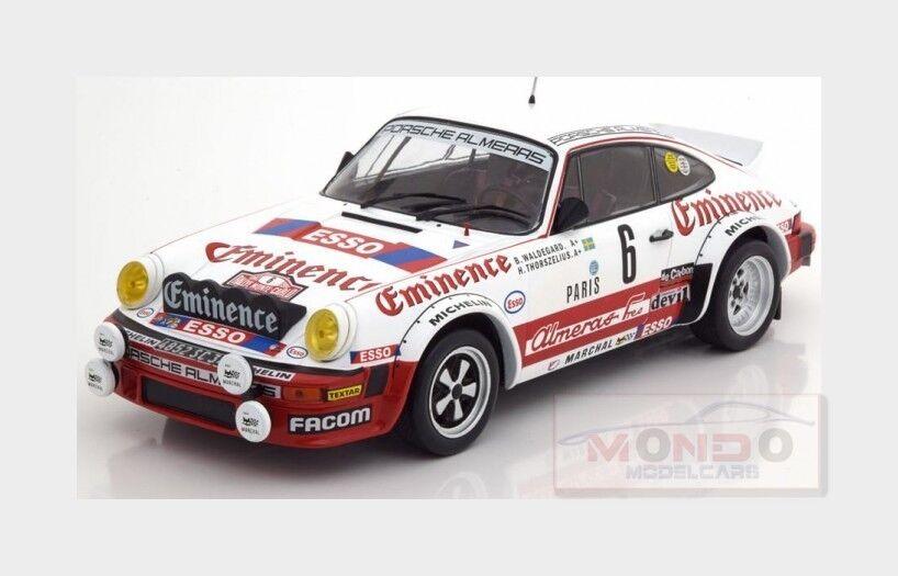 Porsche 911 Sc Coupe  6 Rally Montecarlo 1982 B.Waldegard IXO 1 18 18RMC008