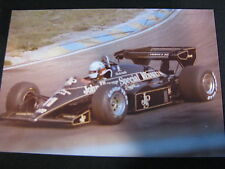 Photo John Player Special Lotus Renault 95T 1984 #11 Elio de Angelis GP NL #2