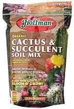 Organic Hoffman Plant Soil Organic Cactus Succulent Potting Soil Mix 4-Quarts