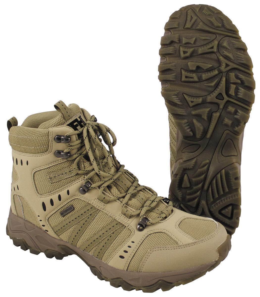 INSERTO MFH Stivali Scarpe Stivali Tactical Scarponcini Trekking Scarpe Stivali Scarpe 39-46 74eeb4