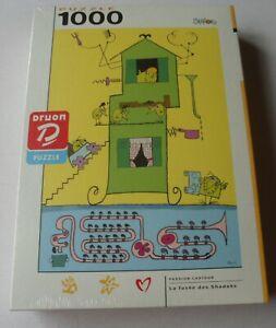 DRUON-1000-Pieces-Jigsaw-Puzzle-LA-FUSEE-des-Shadoks-pas-en-anglais