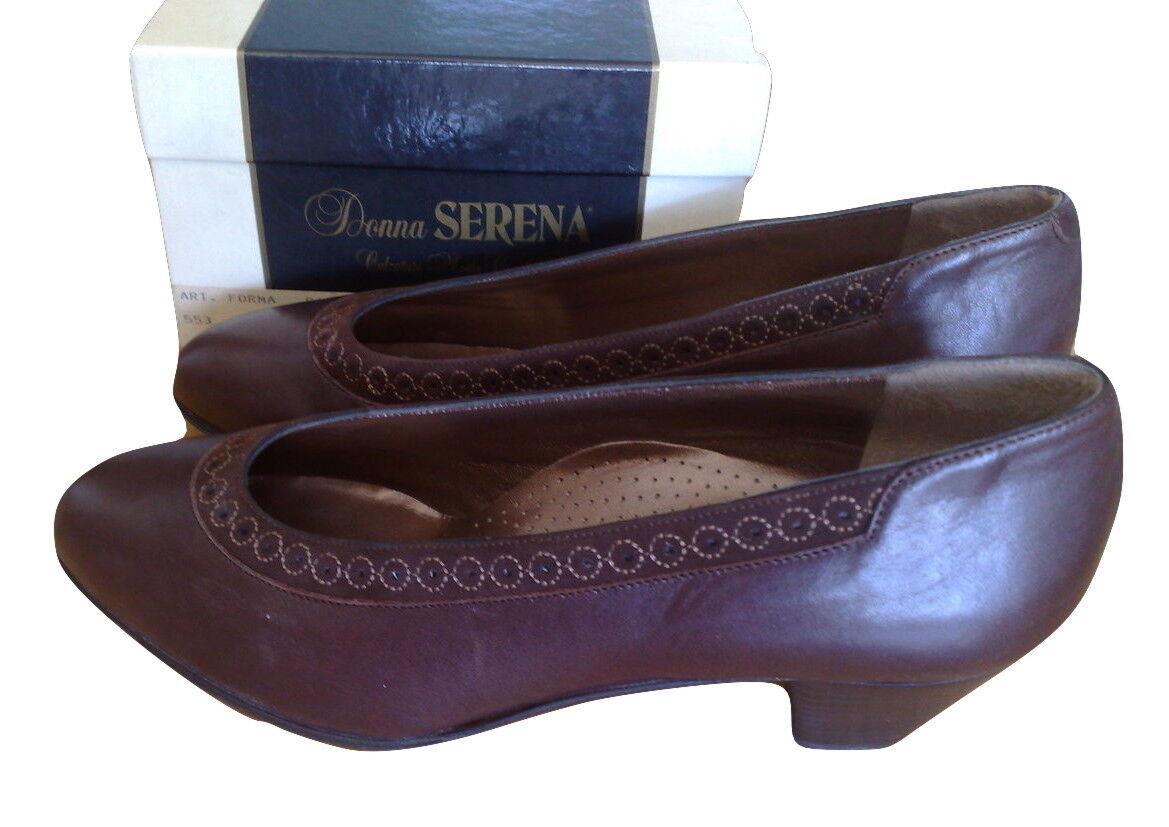 women SERENA NUOVA COLLEZIONE shoes DECOLTE' IN PELLE N.36 SALDI