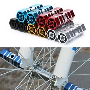 High-Quality BMX Bike MTB Foot Pegs Bicycle Pedals Front Rear Alloy Foot Pegs