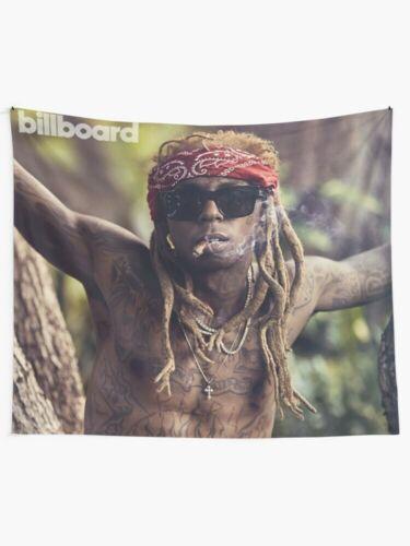 Lil Wayne Tattoo Wall Tapestry