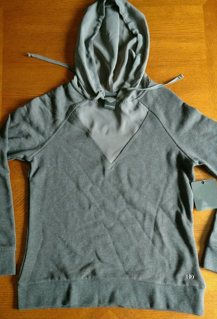 HARLEY-DAVIDSON GENUINE WOMEN'S  H-D   HOODIE, NEW WITH TAGS