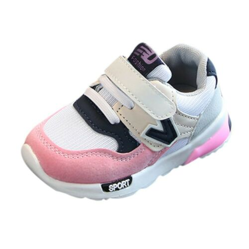 Toddler Baby Boys Girls Children Casual Sneakers Mesh Soft Running Letter Shoes