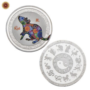 WR-Chinese-New-Year-12-Animal-Zodiac-Signs-SILVER-Coin-Mint-Year-Of-The-Rat