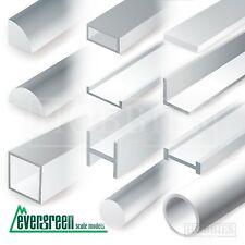 Evergreen Strip Styrene Rods Tubes Angles Model Scratch Building Plastic Build
