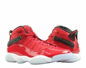ce11c597bef Nike Air Jordan 6 Rings Gym Red/Black-White Men's Basketball Shoes ...