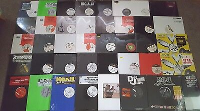 "HIP HOP, DANCEHALL, REGGAETON 12"" RECORD COLLECTION 2000'S SEALED VINYL JOB LOT"