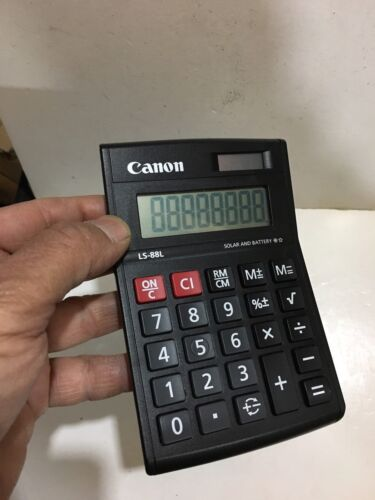 VINTAGE CANON DUALPOWER SOLAR CALCULATOR 1970S1980s