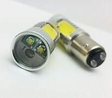 P21/5W 380 BAY15d WHITE 16W HP + CREE LED TAIL STOP CAR BULBS D