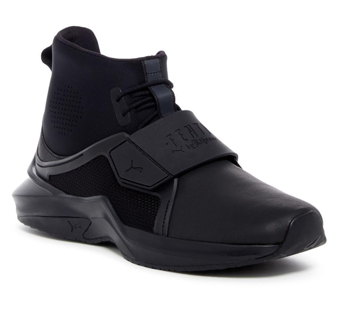 New in Box -  FENTY PUMA by Rihanna Black Hi Trainer Sneaker Size 9
