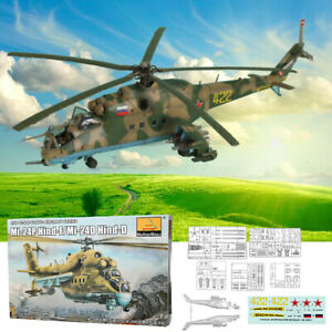 Mi-24P-Hind-F-Mi-24D-Hind-D-1-48-Scale-Static-Aircraft-Series-Helicopter-Model