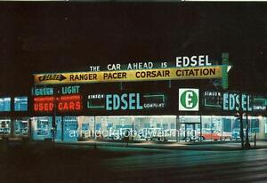 Cadillac Dealers In Michigan >> Photo. 1950s. Columbus, Ohio. Simeon Edsel Co. Auto Dealership | eBay