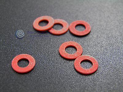100pcs M3 x 7 x 1mm Nylon Plastic Flat Washers m3x7x1 New
