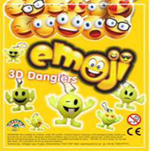 Emoji Keychain Mini 3d Dangler Toys Keychain Decorations Party Supplies Favors