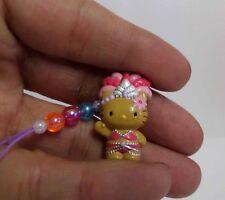 Hello Kitty Cosplay Dancing Show Girl Carnival Dance Phone Charm Strap Lt Pink