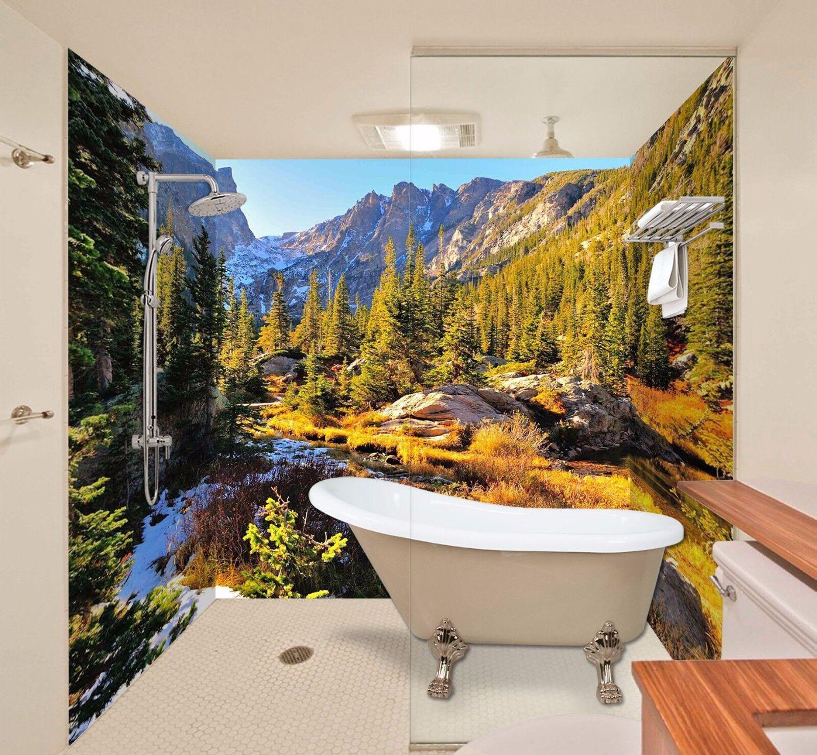 3D Mountain Sky 554 WallPaper Bathroom Print Decal Wall Deco AJ WALLPAPER AU