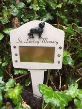 ENGRAVEABLE DOG MEMORIAL STAKE Pet Garden Grave Remembrance IN LOVING MEMORY