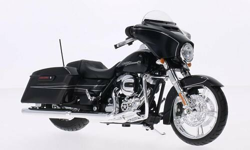 Maisto 2015 Harley Davidson Street Glide Motorcycle 1 To12 Scale Model Black For Sale Online Ebay