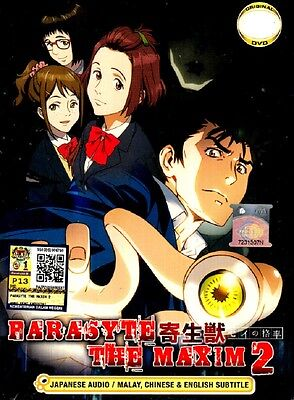 Parasyte The Maxim Season 2 Tv 1 12 End Dvd English Subtitle Ebay