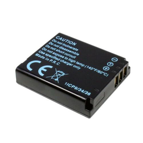 BATERIA para Panasonic Lumix dmc-lx3 1000 Mah